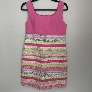 Vintage Lilly Pulitzer Palm Beach Collection Kristianna Ribbons Dress 8